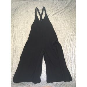 Urban Outfitters Cross-back flowy Jumpsuit